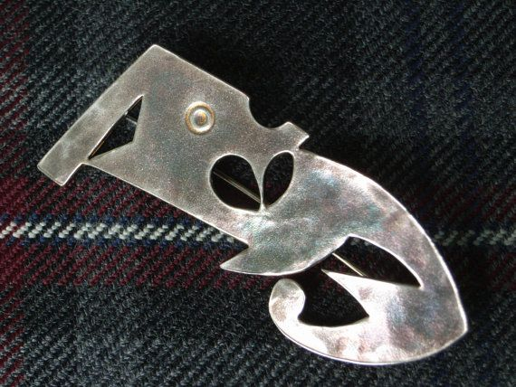 Check out this item in my Etsy shop https://www.etsy.com/uk/listing/209860394/scottish-kilt-pin-in-hallmarked-sterling