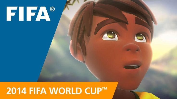 This animation will be the official opening for the FIFA World Cup in most countries this summer. It may not be a World Cup infographic but it is AMAZING.