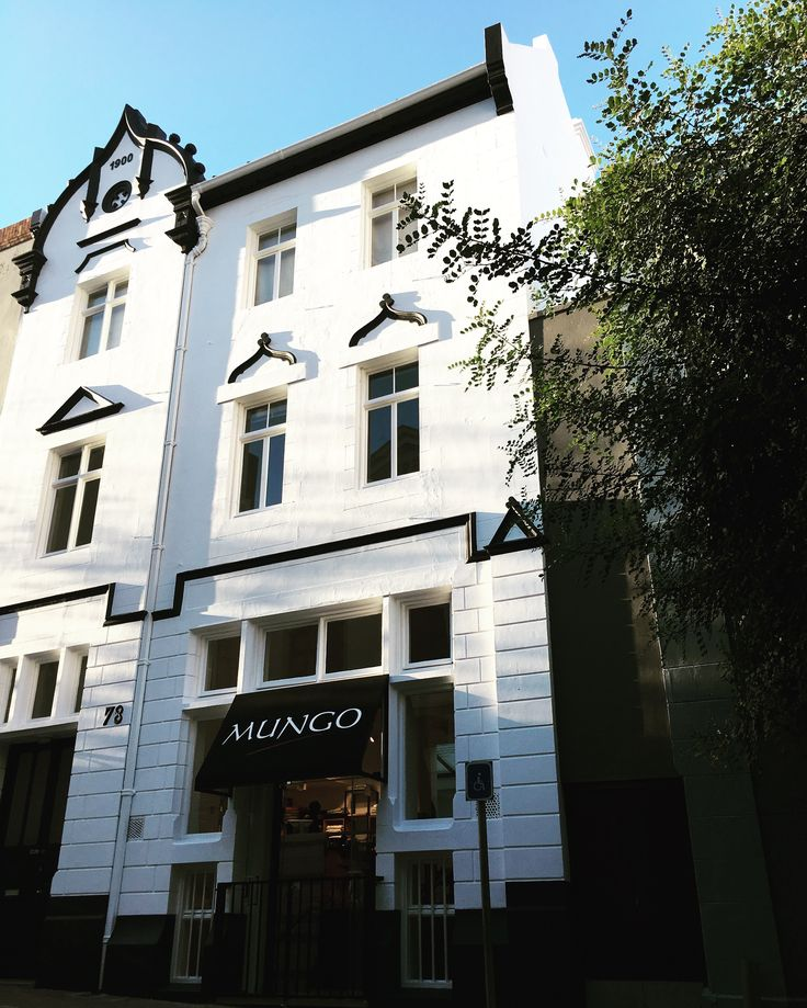 Mungo shop and Micro-Mill in Cape Town Heritage building, built in 1900.