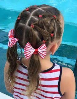 Cabelos, cortes e penteados: Penteados infantis                                                                                                                                                      Mais