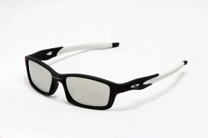 oakley crosslink sunglasses white/silver Iridium $13