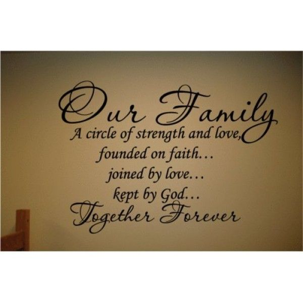 Family Quotes Scripture: Best 25+ Family Wall Sayings Ideas On Pinterest