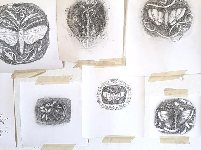sketches #camillaknutsenart #ohbecourageous