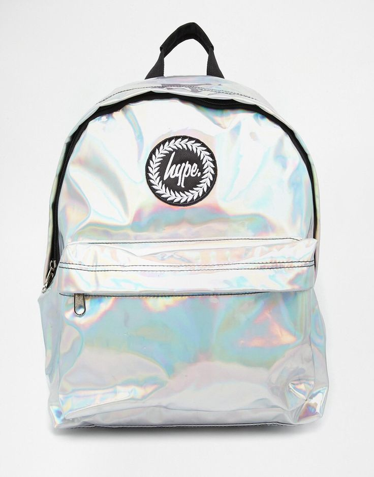 holographic backpack asos