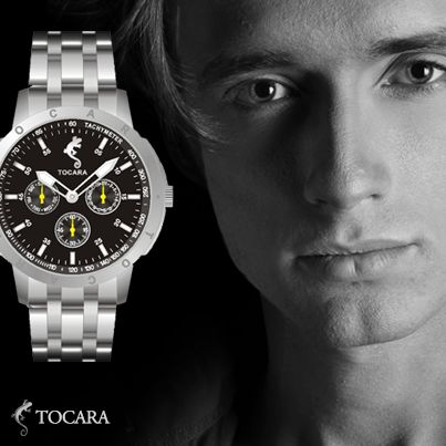 Tocara Pascal watch | Stainless steel - High quality Japanese quartz movement - 3 ATM Water Resistant - Photo-luminescent hands and dial