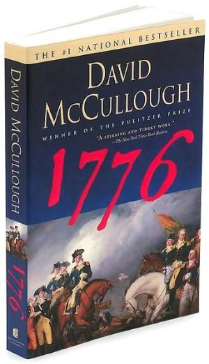1776 by David McCullough. A very interesting book because of all of the historical facts. took forever to read and I will never read it again.