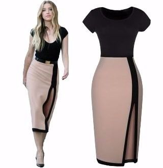 vestido moderno largo con blusa para mujer moda europea 5107