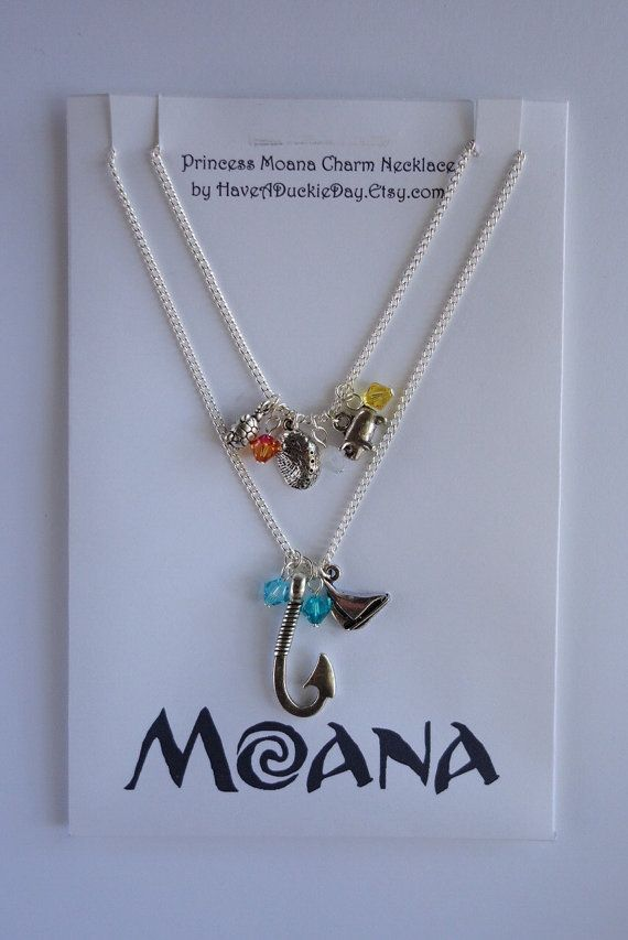 Moana charm necklace new design disney jewelry cute, i love you coloring page