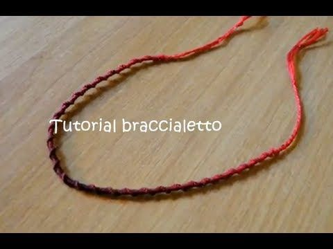 Tutorial 22 • braccialetto spirale in filo di cotone - YouTube