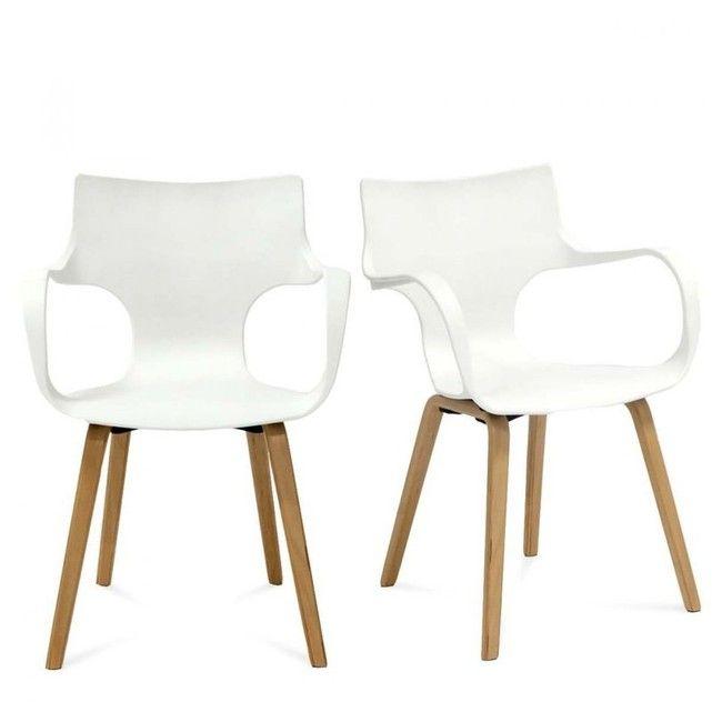 Les 25 meilleures id es concernant chaises blanches sur for Chaises blanches modernes
