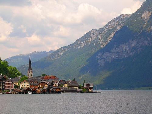 Hallstatt, Austria - I love Alpine villages and lakes