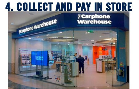 Reserve And Collect At Carphone Warehouse Warehouse Store Warehouse Social Media Planning