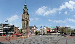 in ca 10 fietsminuten sta je op de grote markt in #Groningen