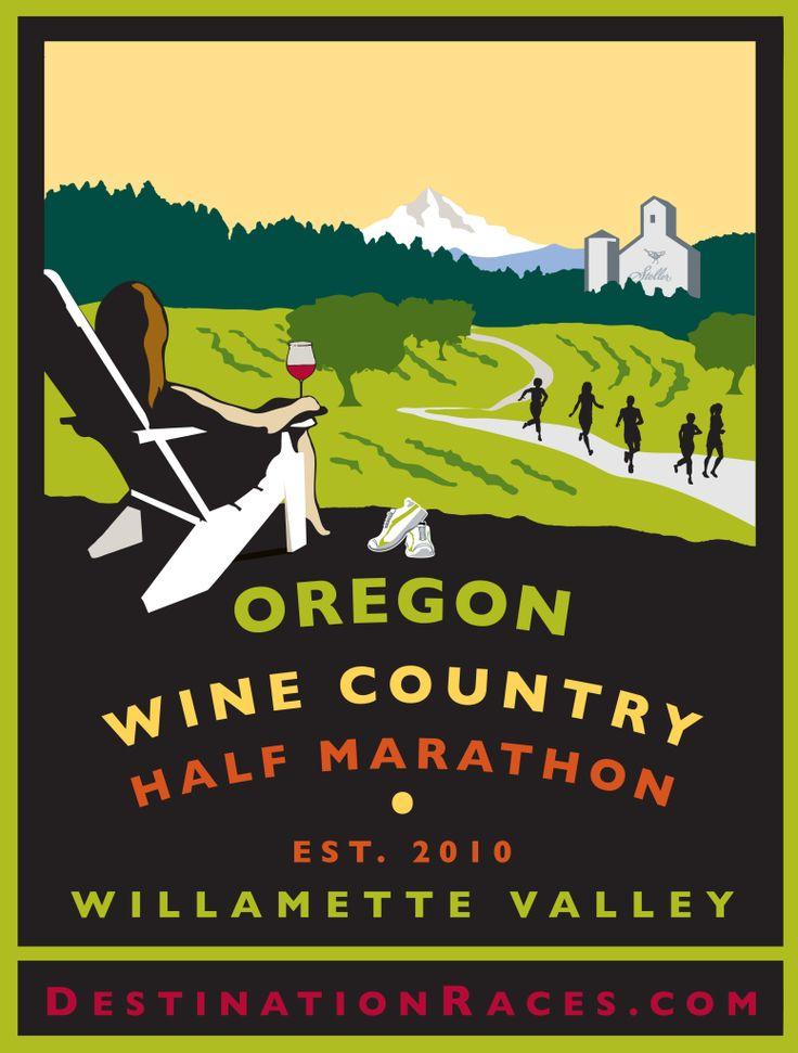Oregon Wine Country Half Marathon 2016