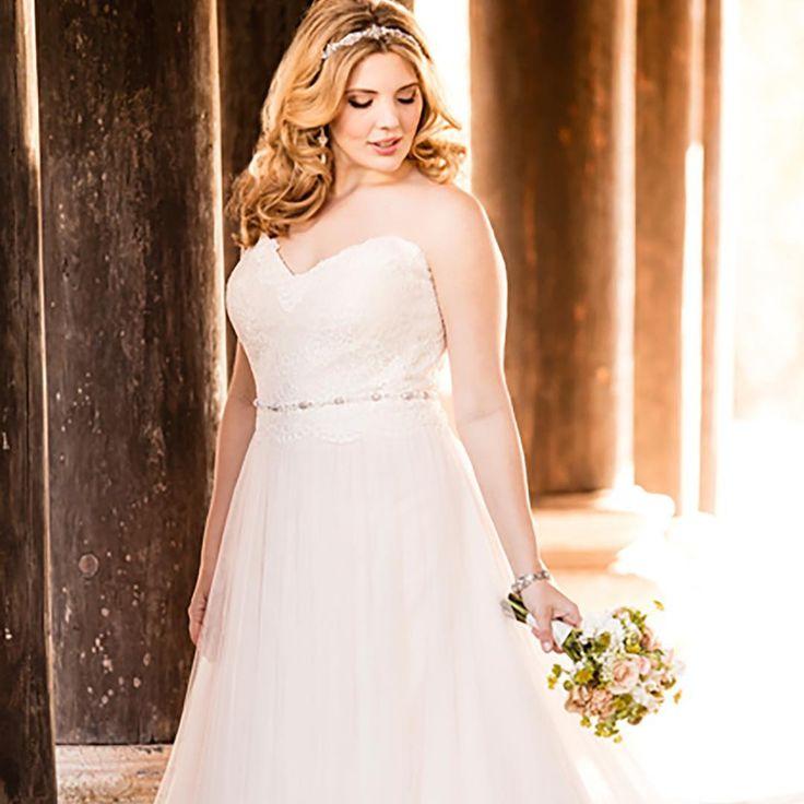Beautiful curves! Bij New Styling Bruidsmode romantische plus size trouwjurken. . . .  #weddingdress #sayyestothedress #sayyes #ido #bridetobe #instabride #bruidsjurk #trouwjurk #bruiloft #trouwen #instawed #gettingmarried #weddinginspo #instawedding #bruid #bride #brides #bridal #verloofd #engaged #liefde #romantisch #verliefd #wedding #instabridal #bruidsmode #instabride #grotematen #stellayork #plussize http://gelinshop.com/ipost/1519348102028222106/?code=BUVzwyHjl6a