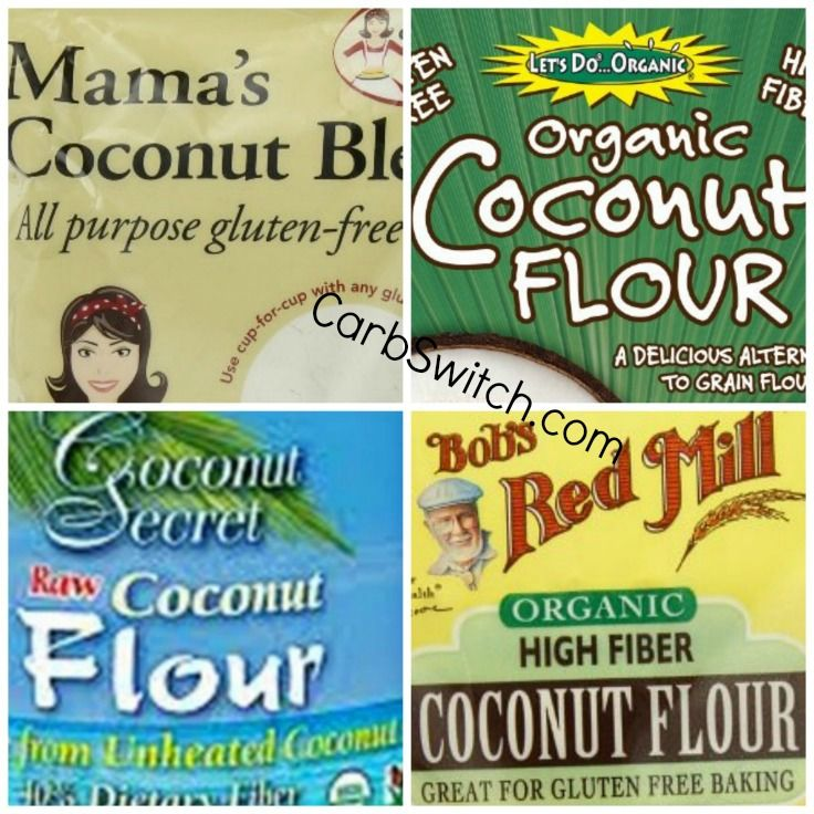 Coconut flour for your coconut flour tortillas and your other coconut flour recipes at carbswitch.com #carbswitch Inspire the health: Please repin
