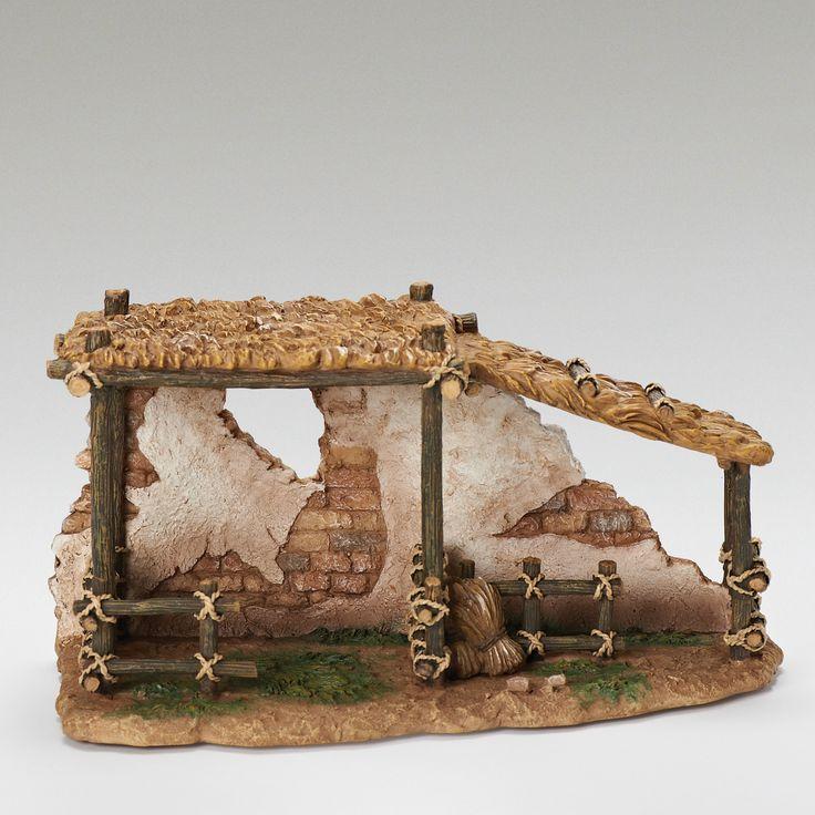 Animal Corral for Nativity Figurine                                                                                                                                                                                 Más