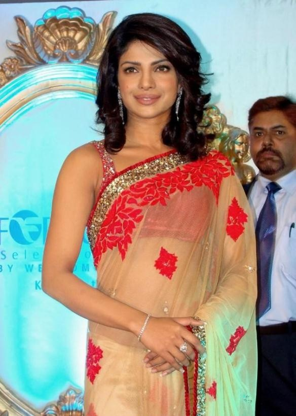 $191.41 Priyanka Chopra In Bollywood Designer Saree 12294