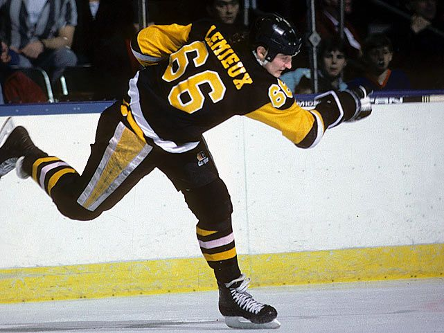 This Day In NHL History: 1997 - Mario Lemieux (Pittsburgh Penguins) played what was billed as his last NHL game. He later came out of retirement to play for the Penguins as an owner/player.  keepinitrealsports.tumblr.com  keepinitrealsports.wordpress.com