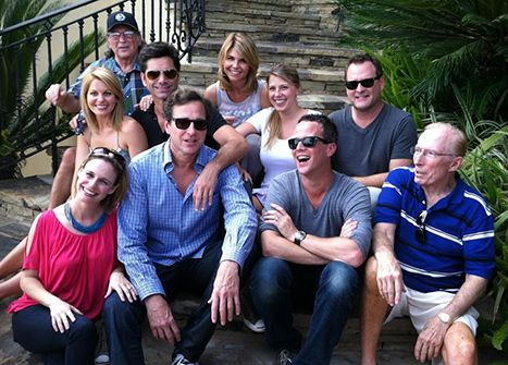 Full House Cast, Minus the Olsen Twins, Reunites for Show's 25th Anniversary