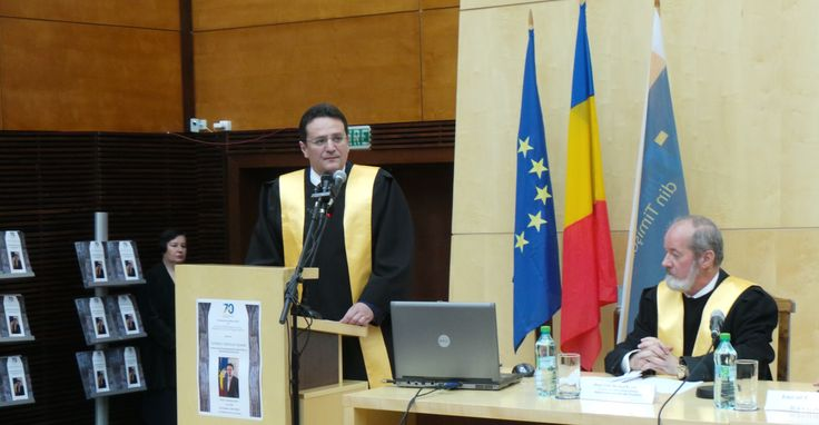 Directorul SRI - Doctor Honoris Causa Beneficiorum Publicorum