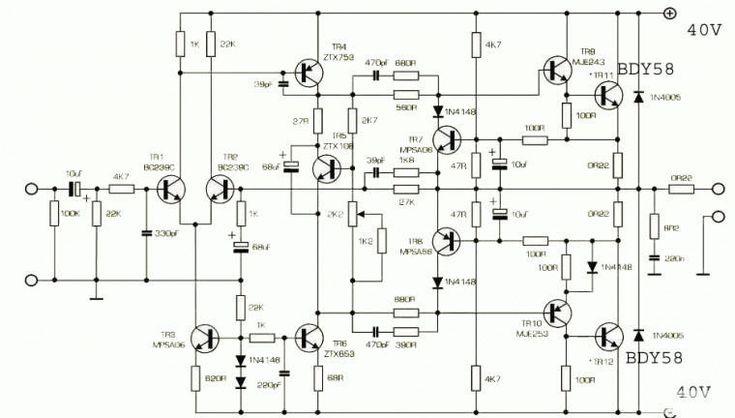 new 140 classic naim clone mono audio power amplifier kit