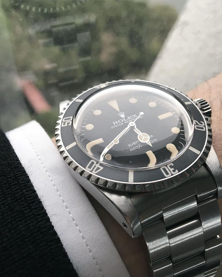 Mr.Greyish on a rainy day.. #rolex #5513 by gongism #rolex #submariner