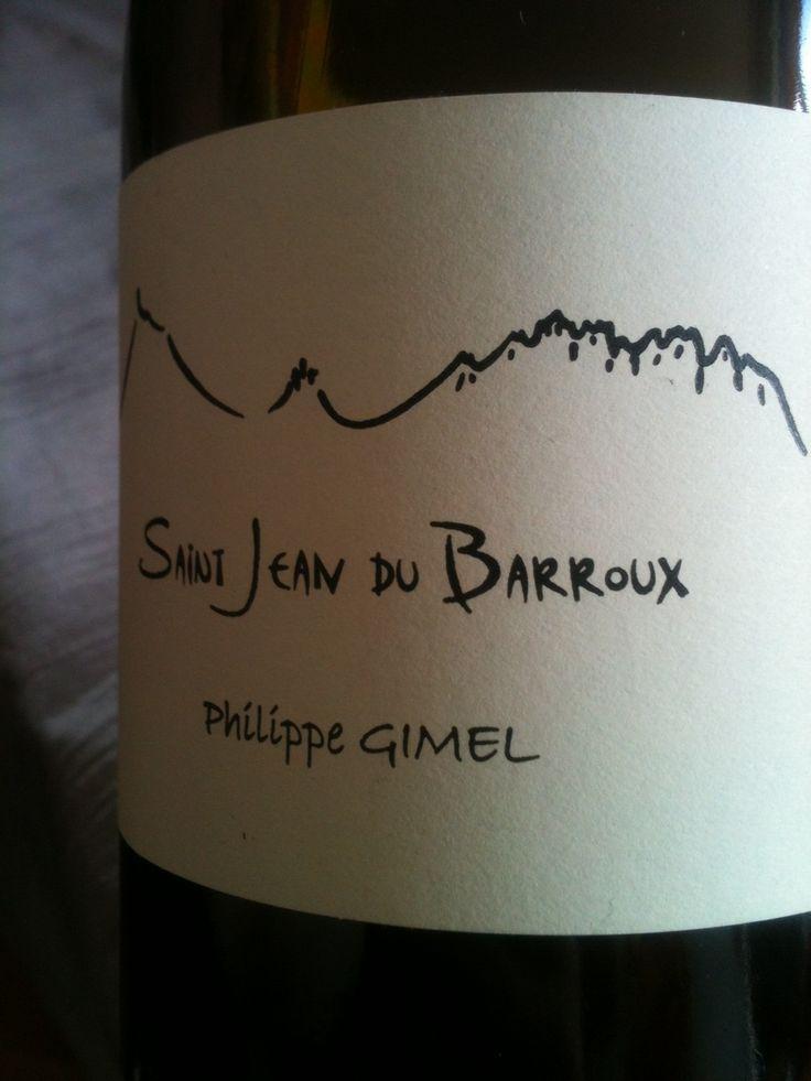 Saint Jean du Barroux, Philippe Gimel #wine #vin