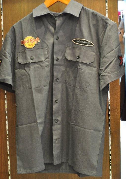 Hard Rock Cafe Men Work Shirt – RM180