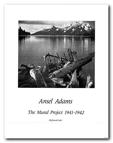Ansel adams drifwood lake wall decor art print poster 22 https