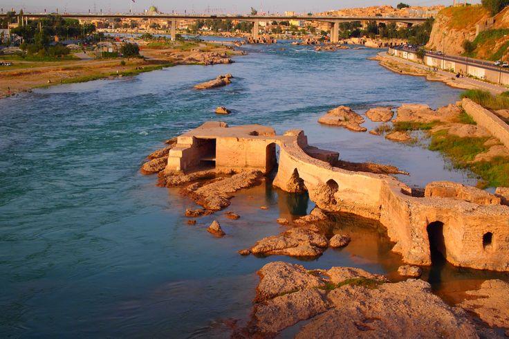 Dez river Iran