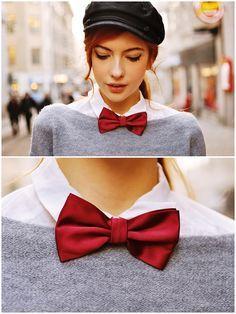 bow tie fashion girl - Поиск в Google