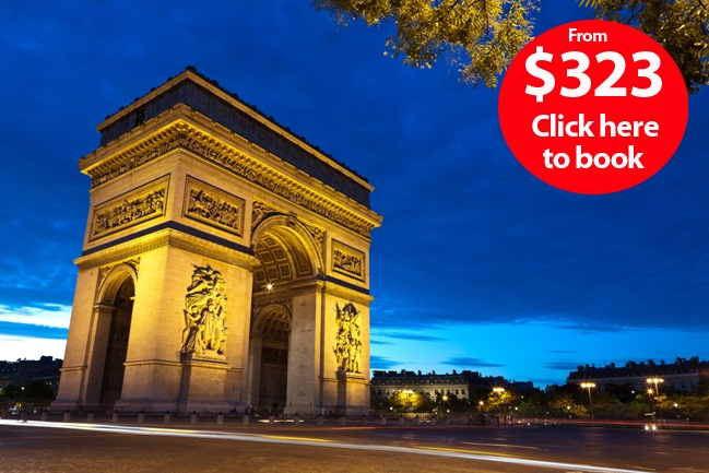 La vie est belle! Great deal for a Parisian Escape.