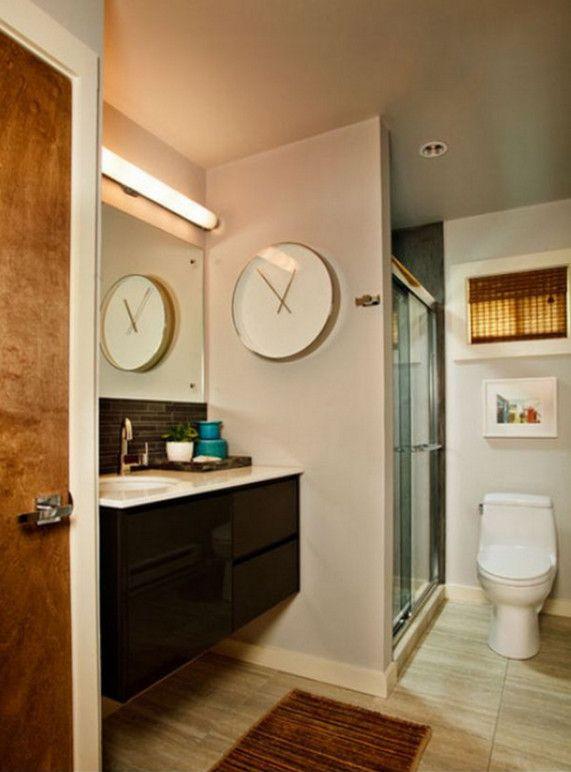 Bathroom Wall Clocks Contemporary