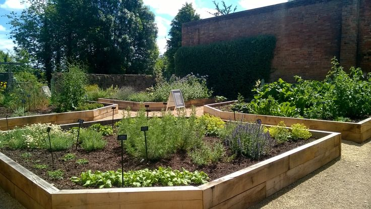 The completed Physic Garden, July 2016.