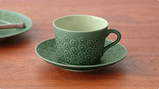 Kronjyden│クロニーデン [Bla Azur]tea cup & saucer