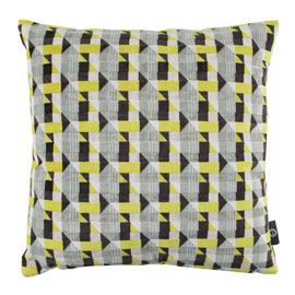 Romo Piccadilly Lime Cushion. For the sofa.