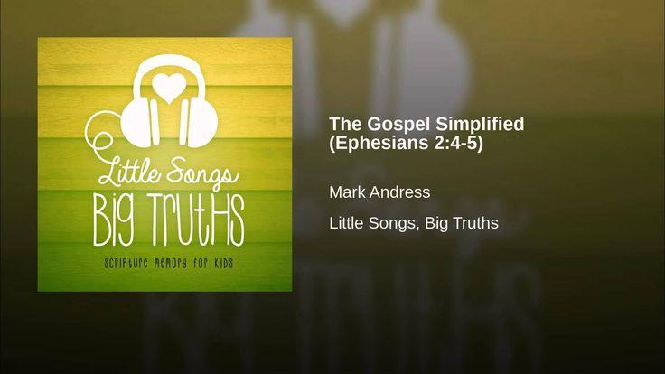 The Gospel Simplified (Ephesians 2:4-5)