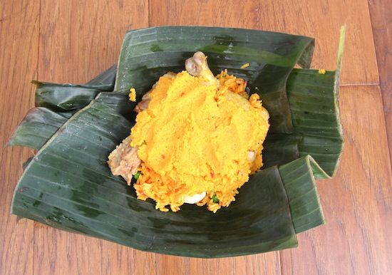 Recipe for Tamales Tolimenses