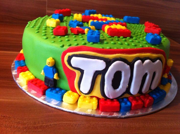 Lego taart Tom