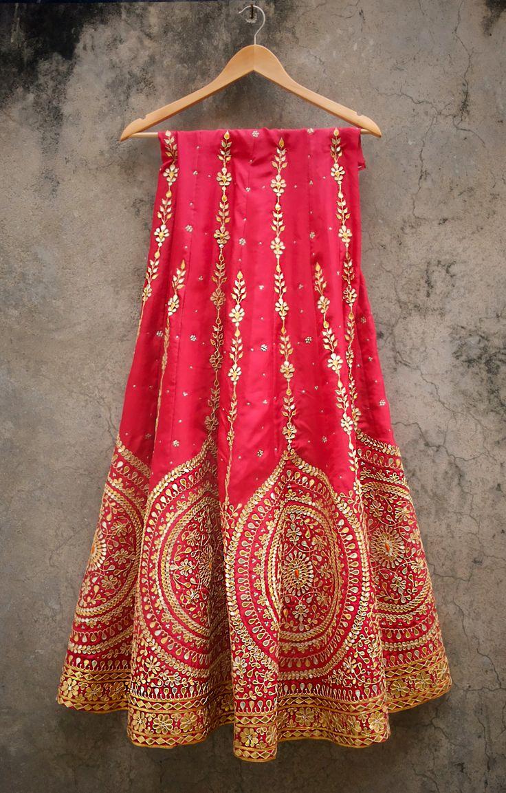 #gota #bridal #handwork #Jaipur https://www.facebook.com/hansaindia