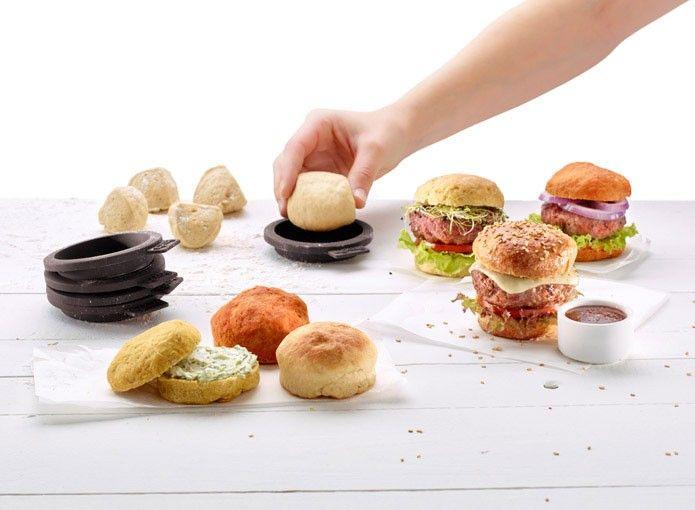 Mini Burger Bread Mould