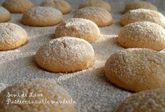 Biscotti alle mandorle (senza farina) - Ricetta Pasticcini morbidi   Semi di Lino