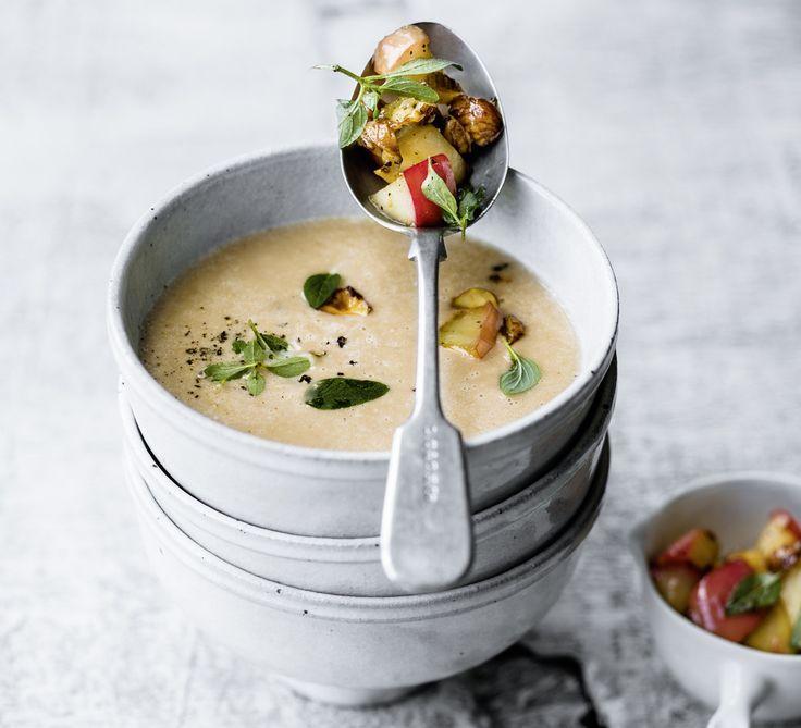 Rezept für eine cremige Maronensuppe