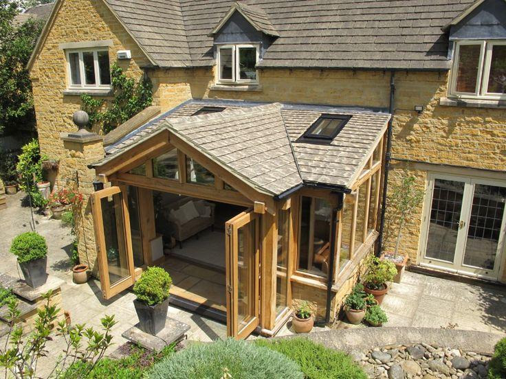 17 best oak framed extension ideas for cottage extensions for Cottage extension designs