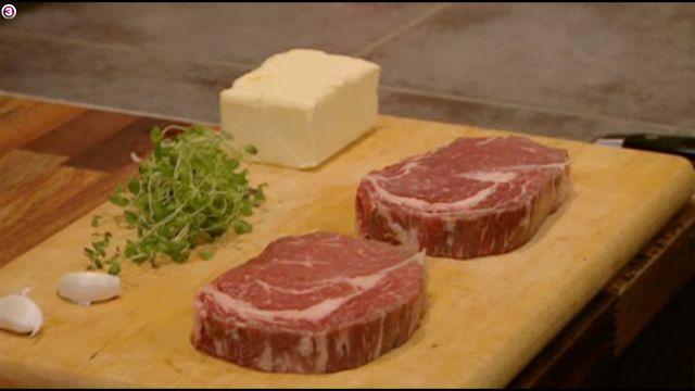 KNIVEN fra STRUBEN: Stegning af steak!