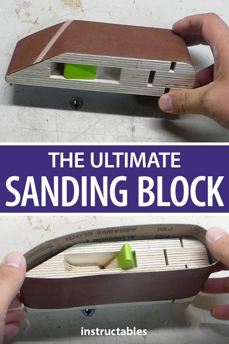THE ULTIMATE SANDING BLOCK