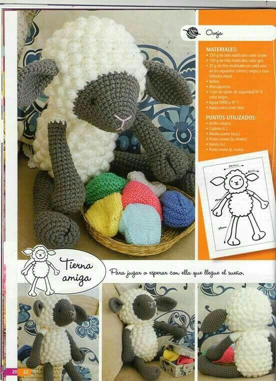 Amigurumi kuzu - Sheep