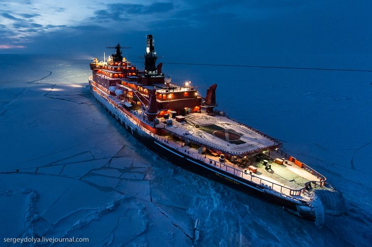 Photographer Sergey Dolya had the unique opportunity last month to ride a Russian nuclear-powered icebreaker to the North Pole. During his voyage, he captured some incredible images with the help of his professional-level Nikon D3X digital SLR camera and a Nikon FX 12-24mm F/2.8G lens.