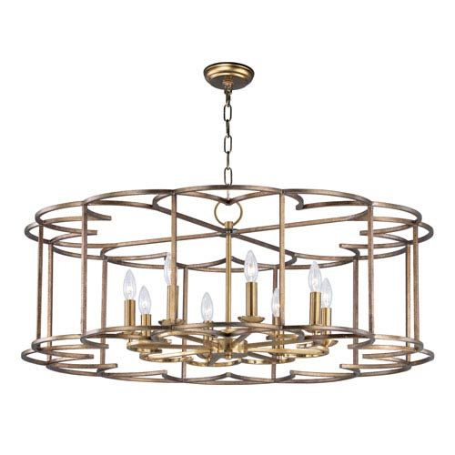 Maxim Lighting International Helix Bronze Fusion Eight